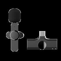 領夾式無線直播麥克風 Type-c (安卓手機&電腦專用) 第二代